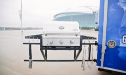 Tailgate Trailer Grill Game
